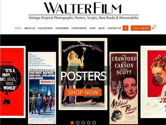 WalterFilm: Website – Blog – Newsletter – Marketing