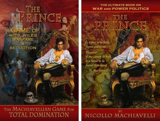 """The Prince"" Book Jacket & Game Cover"